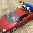 Upgraded RC Toy Car With Ultrasonic Sensor (Arduino)
