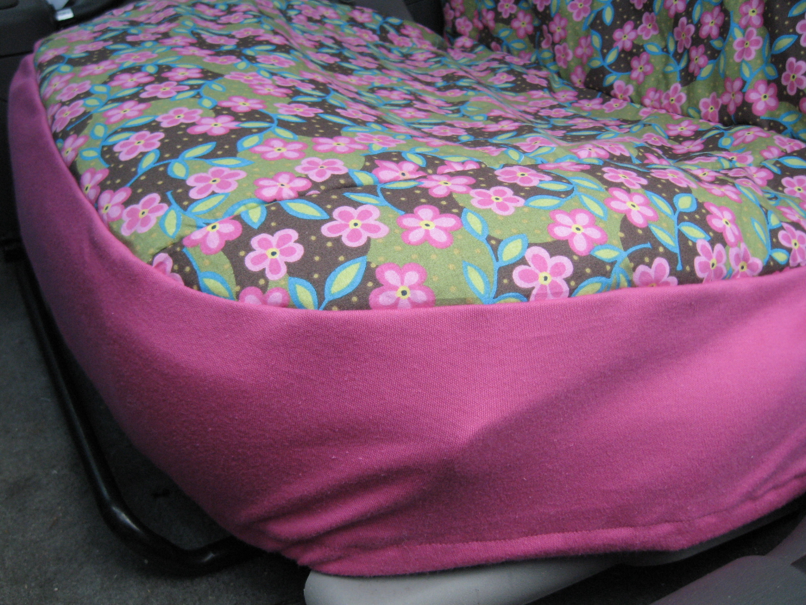 Picture of Car Seat Covers!
