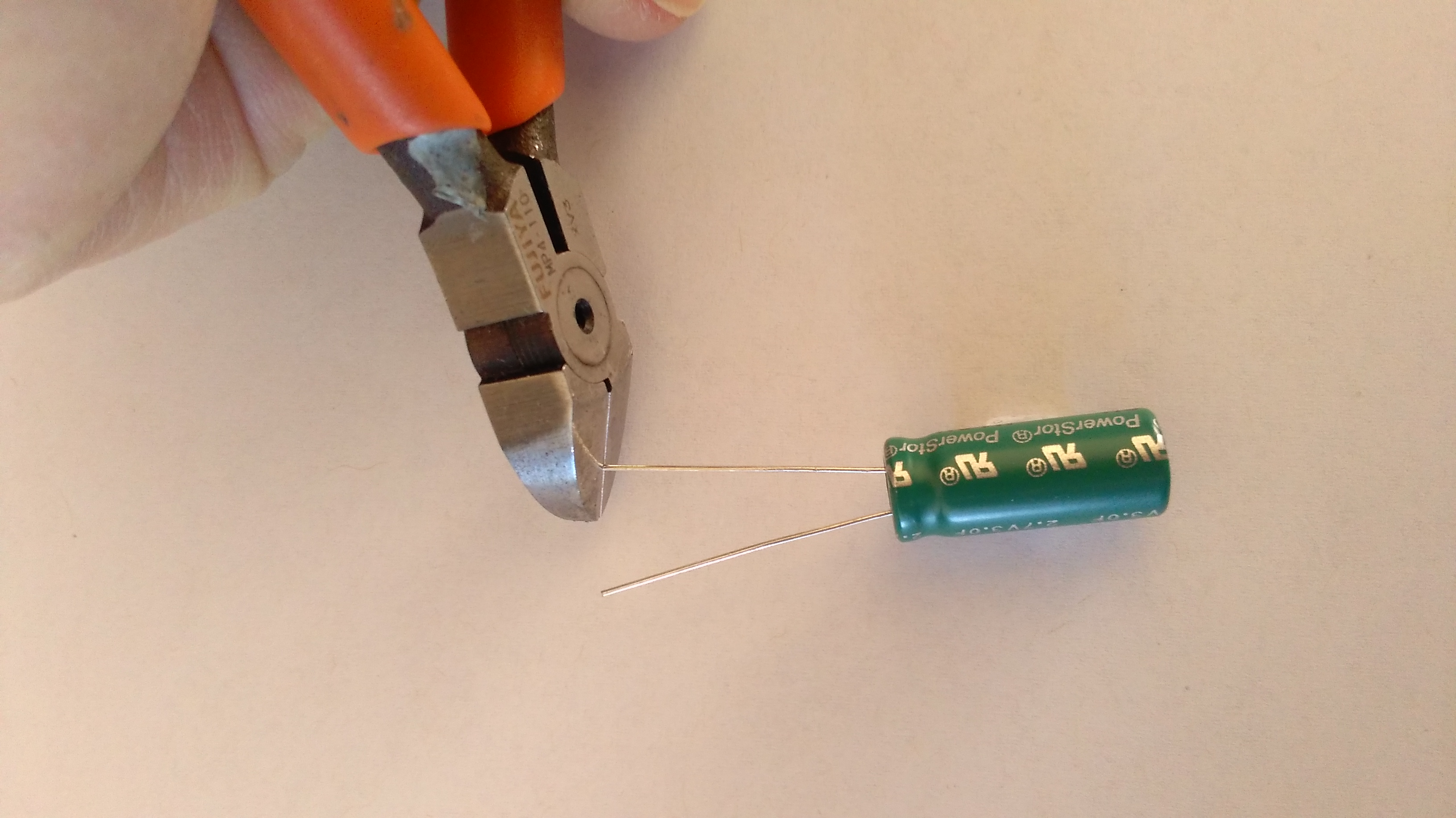 Picture of Building the Bot Unit: Capacitor