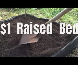 Make a Raised Bed Garden for Only $1.