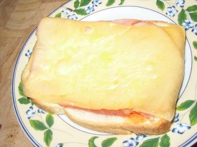 Delicious Pizza Sandwich