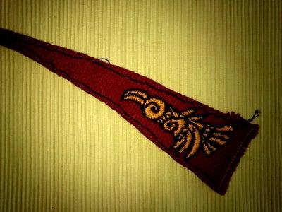 Some Needlework Now..