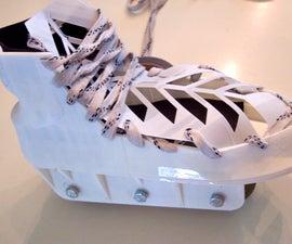 3D Printed Custom Rollerblades