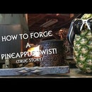 How to forge a pineapple twist out of metal