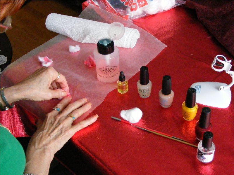 Picture of Now on to the Nails