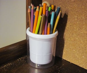 Absolutely Invisible Pencil Cup Compartment