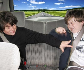 Family Road Trips: Build a Masking Tape Wall to Prevent Backseat Boredom