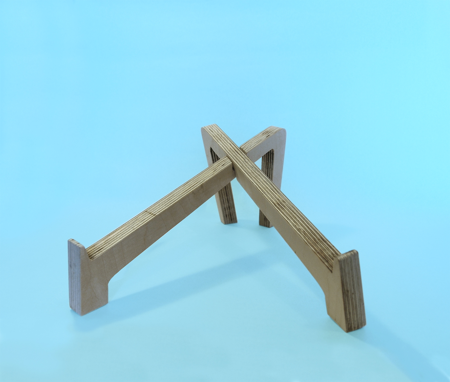 Picture of Plywood Laptop Stand