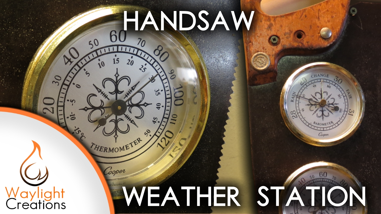 Picture of Upcycle a Handsaw Into a Weather Station