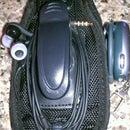 Phone, earbud, Bluetooth holster.