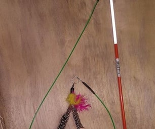 Indestructible Cat Wand (for Cat Play)