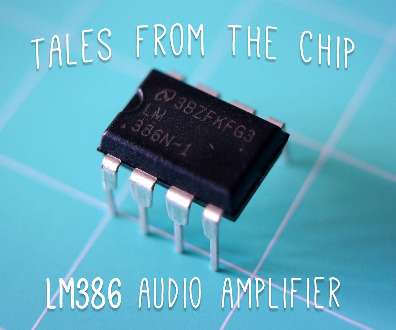 Tales From The Chip Lm386 Audio Amplifier 6 Steps With Pictures Stereo Power Circuit And Explanation Diagram Source