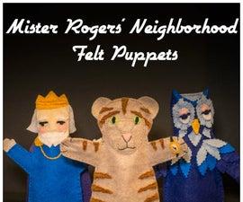 Mister Rogers' Neighborhood Felt Puppets