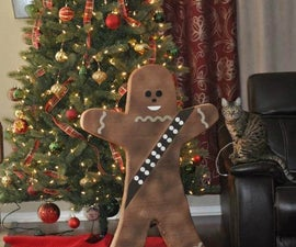 Gingerbread Chewie Cookie Decoration