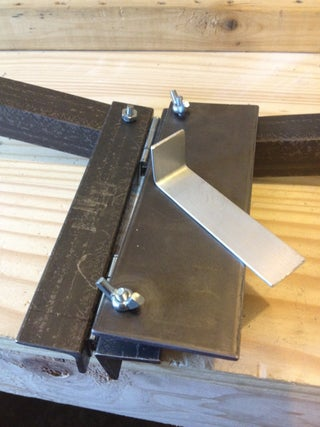 Inexpensive Soft Metal Bending Tool 4 Steps With Pictures Instructables
