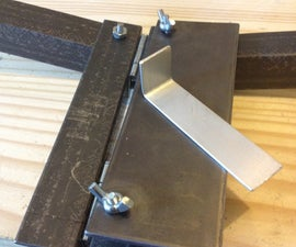 Inexpensive Soft Metal Bending Tool