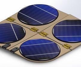 Folding Solar Panel ; Foldapan