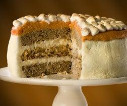 CHOW's Thanksgiving Turkey Cake