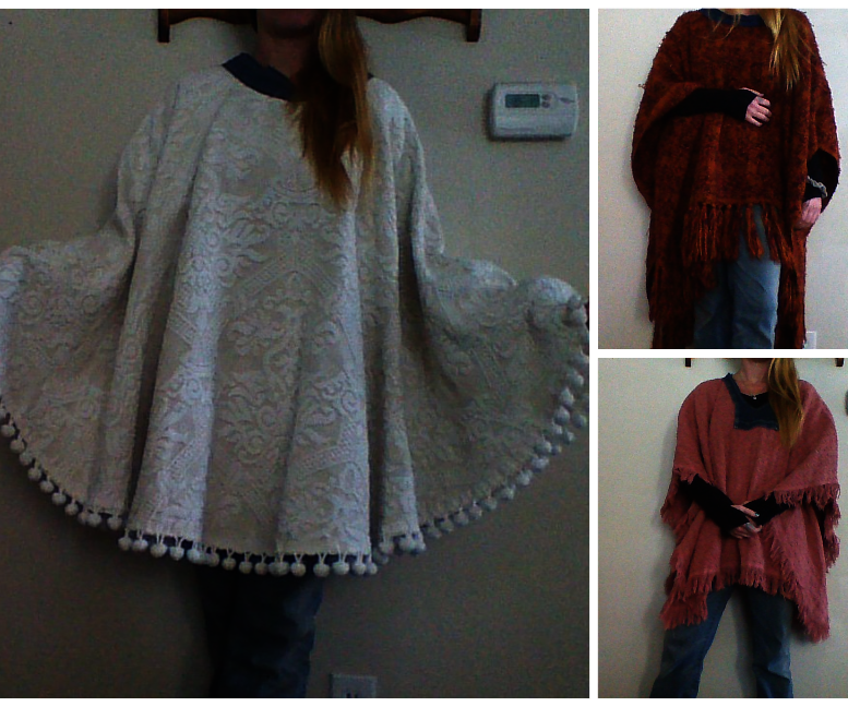 Easy Poncho Out of Almost Anything : 6 Steps (with Pictures)