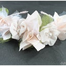 Pretty Rose Headband from diyheart.com