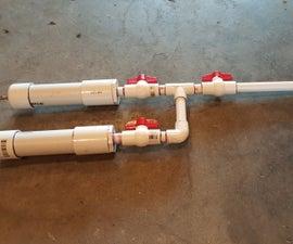 PVC Dual Shot Air Gun