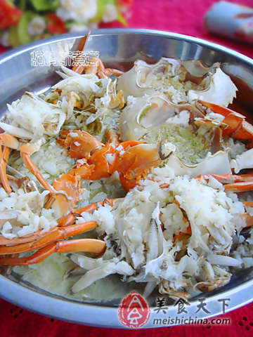 Picture of How to Steamed Crabs