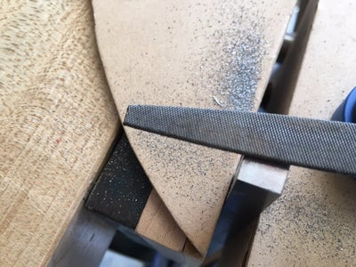 """Prepping the 3/8"""" X 3/8"""" Stainless Bar"""