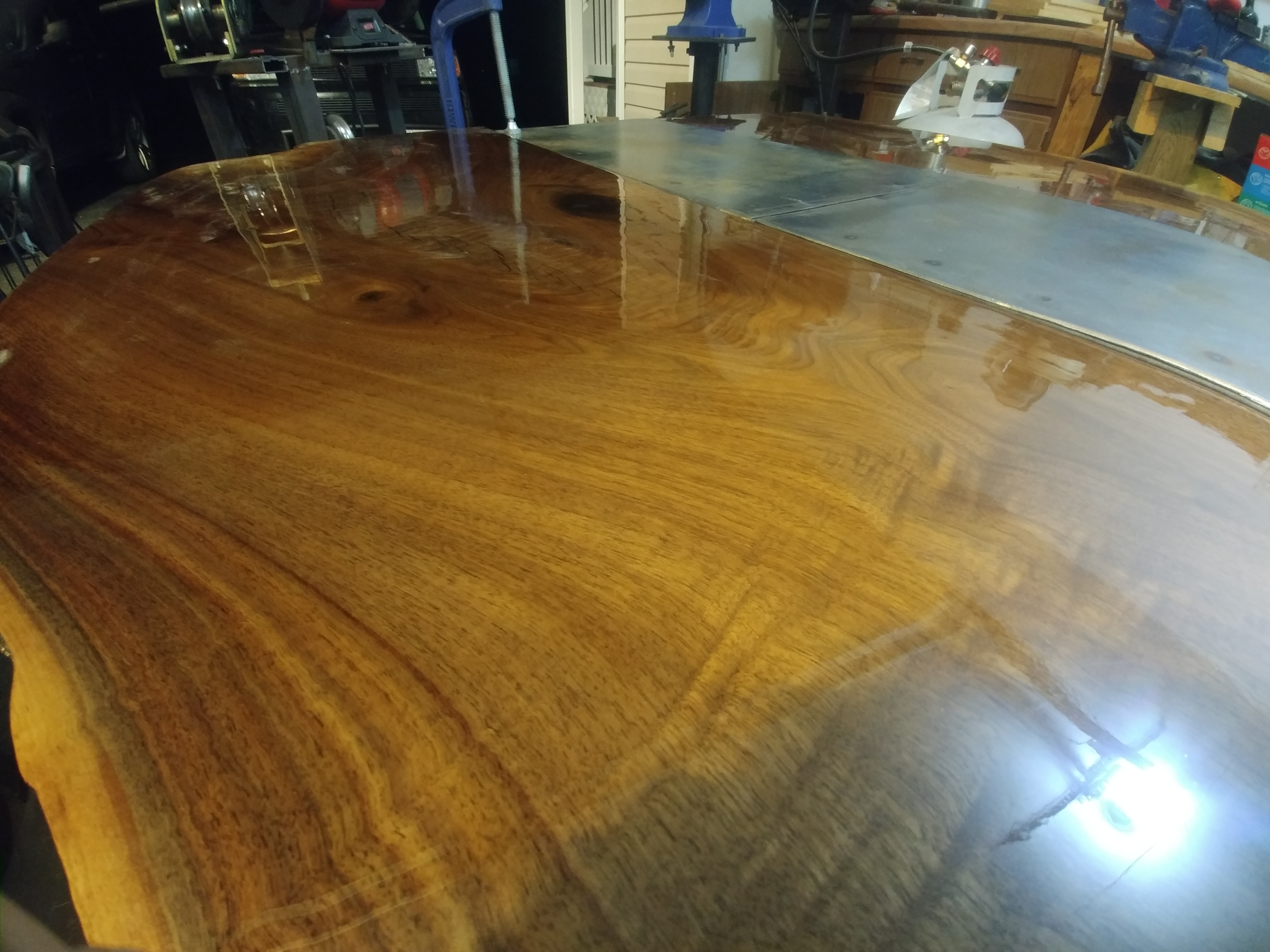 Picture of Second Layer of Epoxy