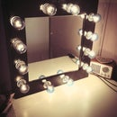 DIY Make-up Mirror With Lights!