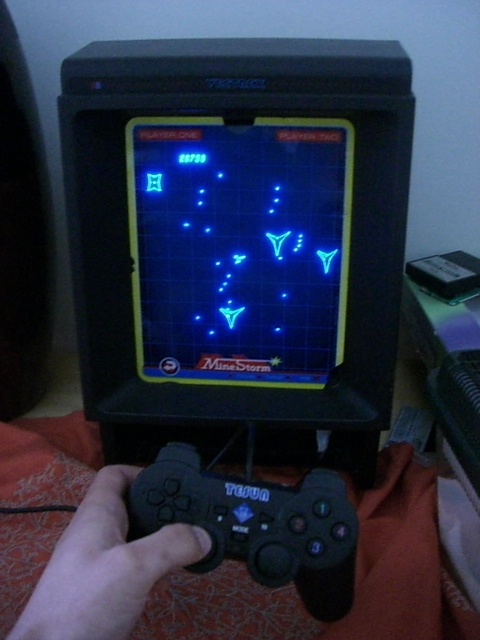 Picture of Modify PSX Controller for Vectrex Games Console
