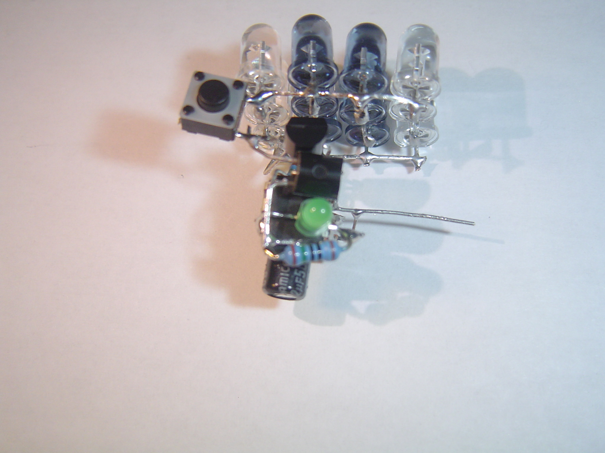 Picture of Add the LED's Resistor