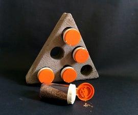 Concrete Spice Rack