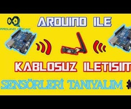 How to Use nRF24L01 Wireless Remote Controll with an Arduino