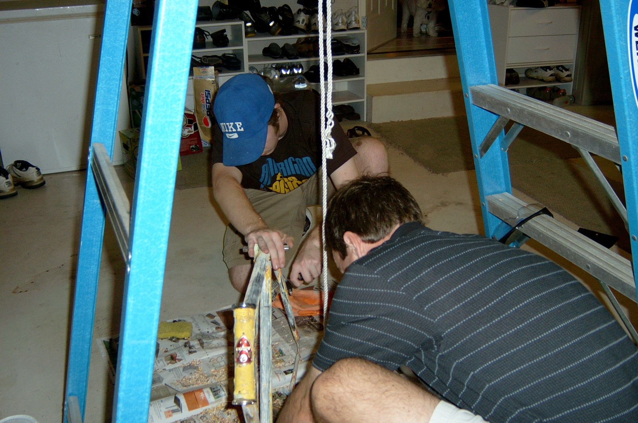 Picture of Stripping the Bike Frame