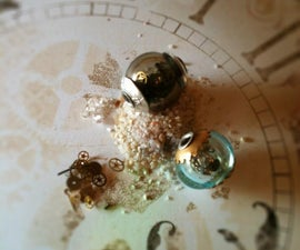 """Steampunk, """"A moment in time"""" Bead"""