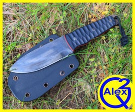 Making a Bushcraft Knife for a Kid