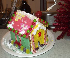 How to create gingerbread houses