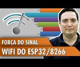ESP32 / 8266 WiFi Signal Strength