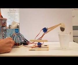 Popsicle Stick Robotic Arm