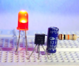 3 EASY TRANSISTOR PROJECTS FOR BEGINNERS