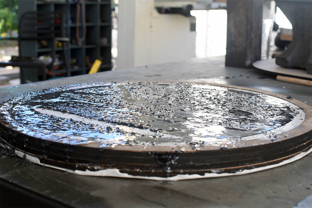 Picture of Epoxy Resin and Iron Filings