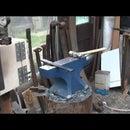 Forging a viking style axe