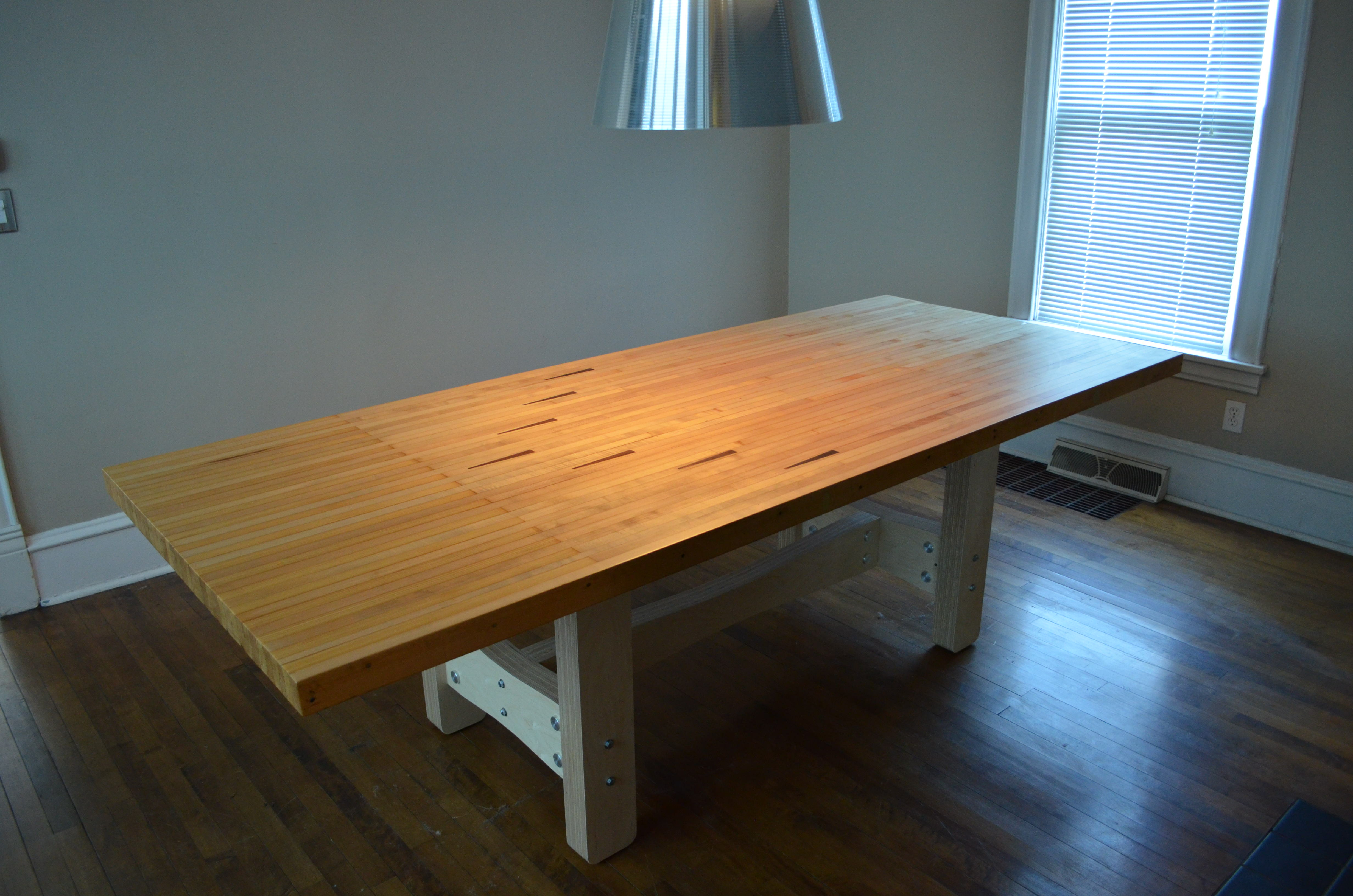 Picture of Reclaimed Bowling Lane Table