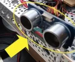 Wallace Autonomous Robot - Part 3 - Add Obstacle Avoidance Sensors