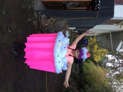 GIANT Cupcake Costume