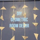 DIY Geometric Room Decor