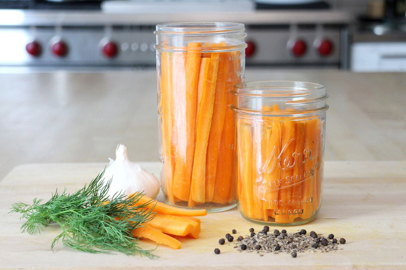 Pickled Dilly Carrots