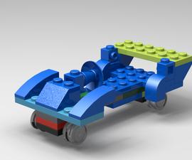 Lego Drag Race Car