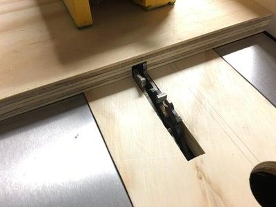 Create a Dado for PVC Board