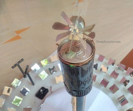 Mini Concentrated Solar Thermal Power Plant: Version 2